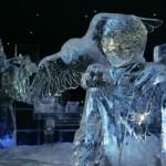 bruges festival delle sculture di ghiaccio