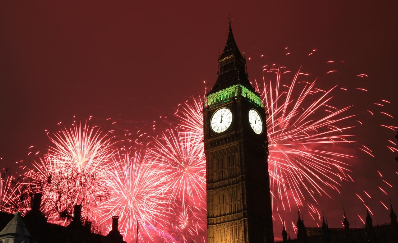 capodanno in europa, capodanno 2012 londra