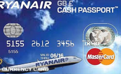 mastercard prepaid ryanair