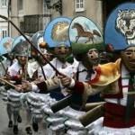 Maschere di Carnevale tradizionali Spagna-Peliqueiros