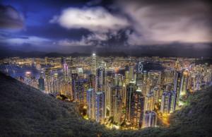 hong-kong-notte
