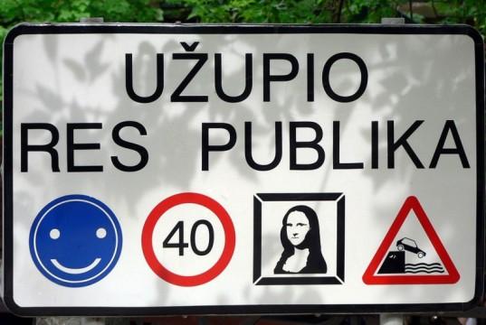 uzupis-cartello