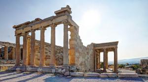 Veduta dell'Acropoli di Atene