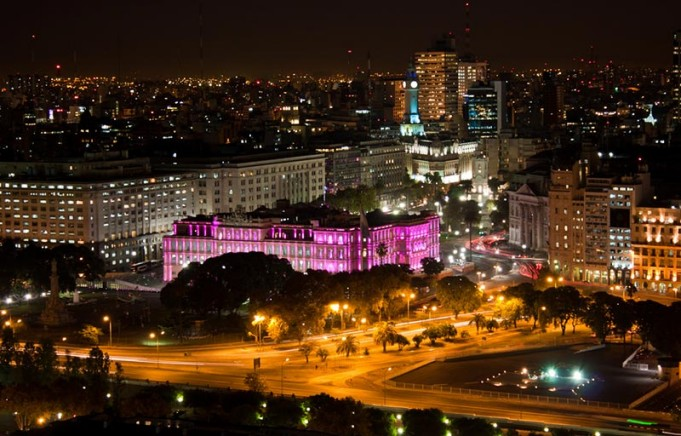 Buenos Aires di notte
