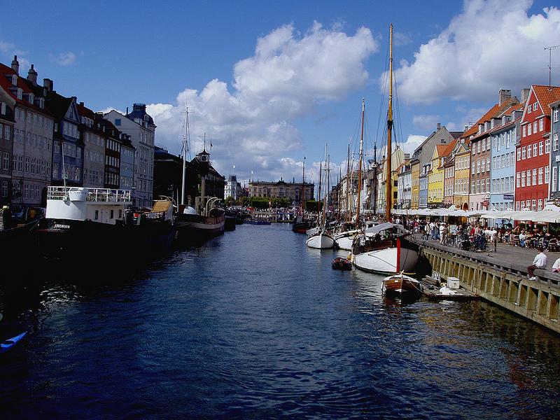 Una veduta di Copenaghen