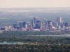 Veduta di Denver in Colorado
