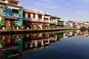 Malacca sul fiume