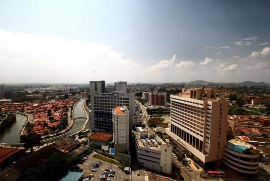 Malacca veduta panoramica