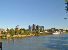 La città di Sacramento in California