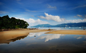 La spiaggia di patong Phuket