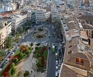 Veduta di Valencia dalla Torre Miguelete