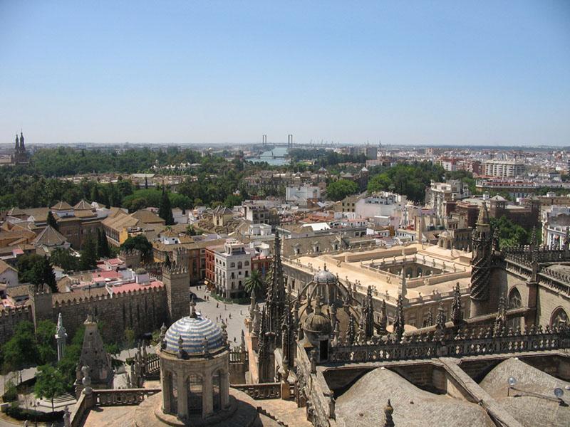 Veduta panoramica di Siviglia