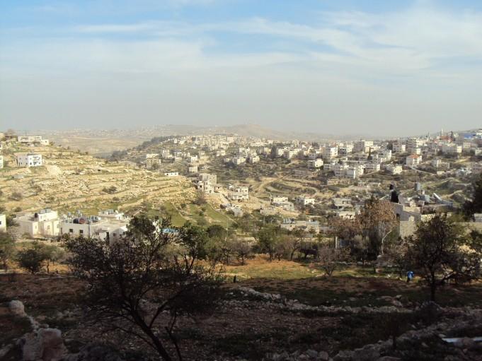 veduta panoramica della palestina